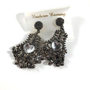 NWOT Silver Vintage Boho Earrings